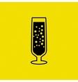 wine icon design vector image vector image