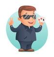 casino poker cards gambling mascot professional vector image