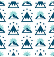 mountain exploration vintage background vector image