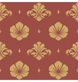 Baroque design wallpaper vector image vector image