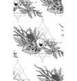 beautiful seamless pattern endless vector image