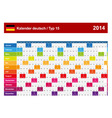 Calendar 2014 German Type 15