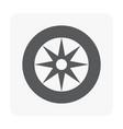 car part icon vector image vector image