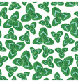 clover seamless vector image vector image