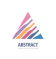 development progress - business logo vector image vector image