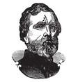 general george henry thomas vintage vector image vector image