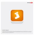 icon socks vector image vector image