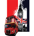 london poster vector image vector image
