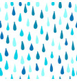 rain seamless pattern for your design vector image vector image
