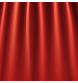 Red curtains background vector image vector image