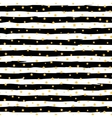 Seamless striped pattern with stars vector image vector image