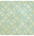 Vintage background with seamless geometric pattern vector image vector image