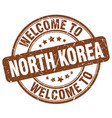 welcome to north korea vector image vector image