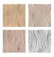 wooden seamless patterns set wood grain vector image vector image