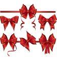 gift bows vector image