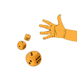 hand activities vector image