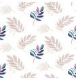 lavender plant leaf seamless pattern vector image vector image