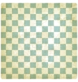 old checkered background vector image vector image