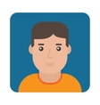 Profile Icon Male Portrait vector image vector image