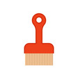 sweeper isolated cleaning accessory cleaner object vector image