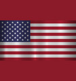 usa official flag vector image