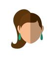 Woman icon avatar person design graphic vector image vector image