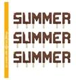 Set Summer Ice Cream vector image