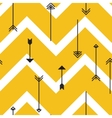 Tribal arrows seamless pattern vector image