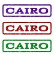 cairo watermark stamp vector image