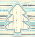 Christmas pattern in light pastel colors vector image vector image
