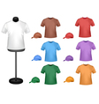 Colored shirts with a mannequin vector | Price: 1 Credit (USD $1)