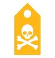 Death Mark Icon vector image