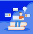 education concept idea design vector image