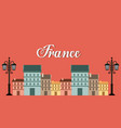 france classic place location vector image vector image