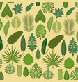 pattern color set decorative of different types vector image