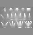 spotlight light vector image