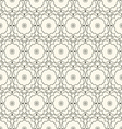 Vintage seamless wallpaper vector image vector image