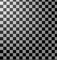 Black and white checkered abstract background vector image