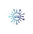automotive share logo icon design