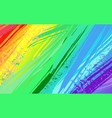 background with rainbow paint vector image