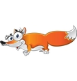 Cheerful Fox vector image vector image