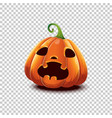 happy halloween halloween pumpkin in vector image vector image