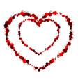 heart grunge3 0000 vector image vector image