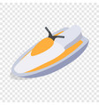 jet ski isometric icon vector image