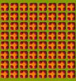 paper cut geometric modern background vector image
