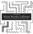 branches brushes vector image