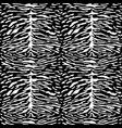 abstract animal tiger seamless pattern vector image vector image