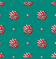 atom icon seamless pattern background vector image