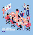 brainstorm conference vector image vector image