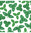 clover set pattern vector image vector image